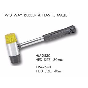 CRESTON TWO WAY RUBBER AND PLASTIC MALLET(40MM)