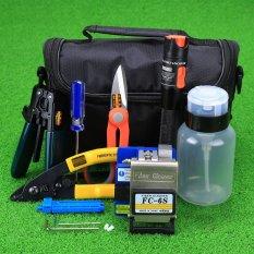 CRUISER 16 In 1 Fiber Optic FTTH Tool Kit FC-6S Fiber Cleaver With10Mw Visual