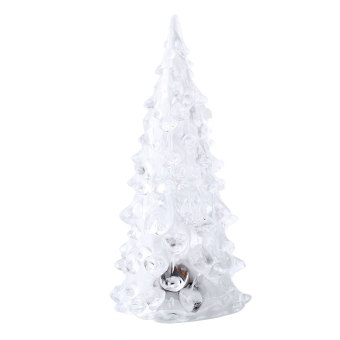 Crystal Color Changing Christmas Tree LED Table Lamp Light Decoration Xmas Gift