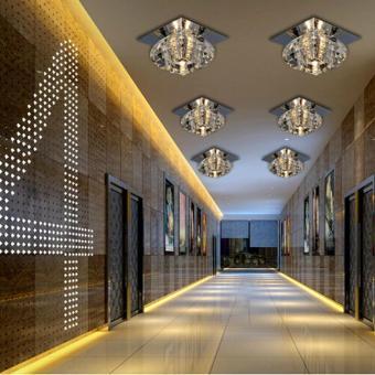 Crystal LED Ceiling Light Lamp Lighting Chandelier - 2