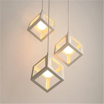 Cube metal cage pendant lights lamps kitchen bar ceiling fixtures cube metal cage pendant lights lamps kitchen bar ceiling fixtures lighting intl aloadofball