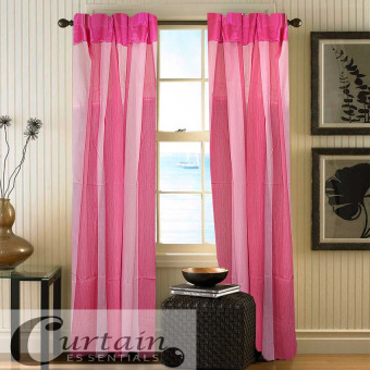 Curtain Essentials Carvey Curtain (Pink) Set of 2