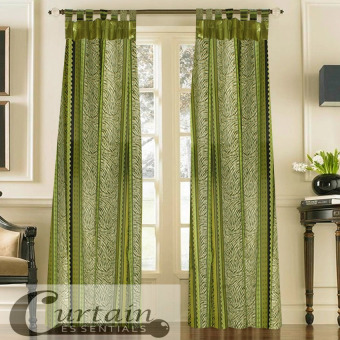 Curtain Essentials Chimalis Curtain (Sea Green) Set of 2 Price Philippines