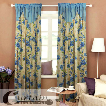 Curtain Essentials Daffodil Blue Set of 2