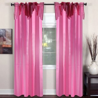 Curtain Essentials Haywood Hot Pink Single Panel