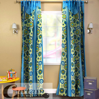 Curtain Essentials Pete Curtain (Blue) Set of 2 Price Philippines