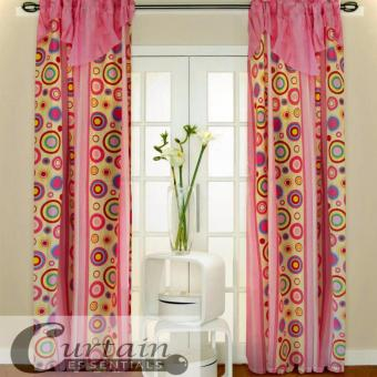 Curtain Essentials Pete Pink Set of 2