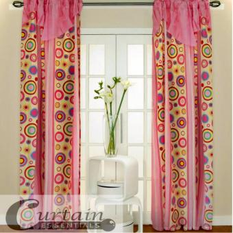 Curtain Essentials Pete Pink Single Panel