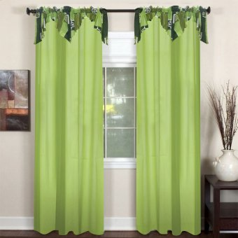 Curtain Essentials Poppy Sea Green Single Panel