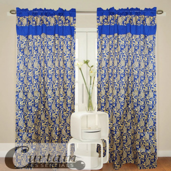 Curtain Essentials Royale Blue Single Panel