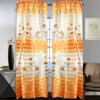 Curtain Essentials Wembley Amber Window Single Panel