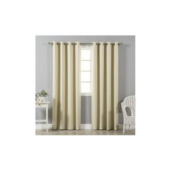 Curtain grommet blackout (140x220) Price Philippines