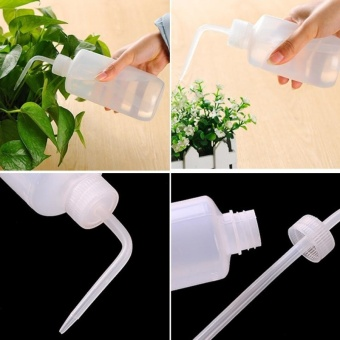 Curved Mouth Drip Bottle Tip Mouth Plant Watering Pot Watering CanSqueeze Sprayer Watering Bottle Watering Pot Flowers PottedWatering Device,Capacity:500ml - intl - 4