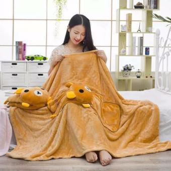 Cute Comfy 3 in 1 Foldable Blanket Pillow