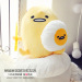 Cute egg yolk office pillow cartoon pillow