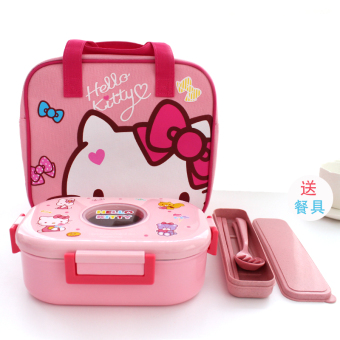 Cute seal portable student Lunch Container insulated container