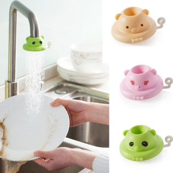 Cute Water Faucet Sprayer Spray Saving Kitchen Accessories Flexible Sink Tap Attachment Adjustable Adapter Nozzle Spout Kitchen - intl