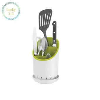 Cutlery drainer and organiser (green) - 2
