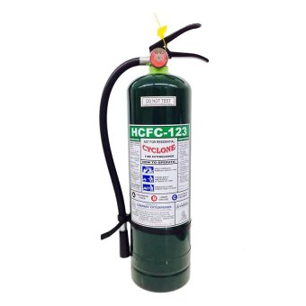 Cyclone Fire Extinguisher 10lbs HCFC-123 (Green) Price Philippines