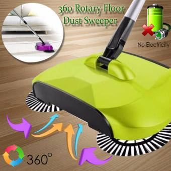 D&D 360 Rotary Home Use Magic Manual Telescopic Floor Dust Sweeper