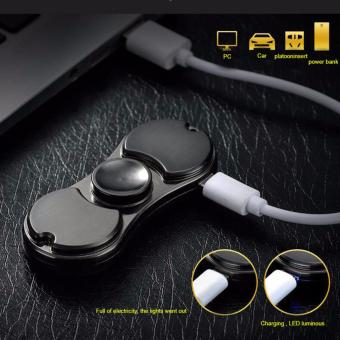 D&D Hand Spinner Fashion Electric wire USB Charging LighterCase Creative Personality USB Cigarette Lighter - 4
