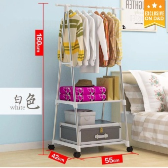 D&D Popular Display Clothes Rack Organizer