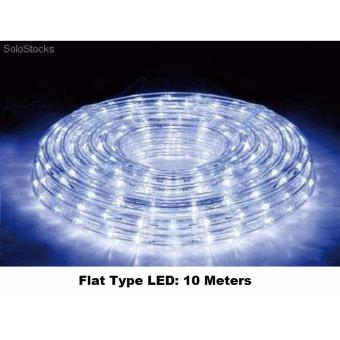 DAN DAN 10 Meters LED Flat Type Rope Light with Controller ( CoolWhite) Price Philippines