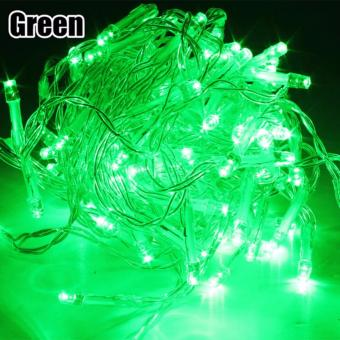 DAN DAN Mabuhay Star 80 Led Bright and Vivid Colors String Lights/Christmas Lights (Green) Price Philippines