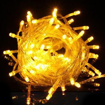 DAN DAN Mabuhay Star 80 Led Bright and Vivid Colors String Lights/ Christmas Lights (Yellow) - picture 2