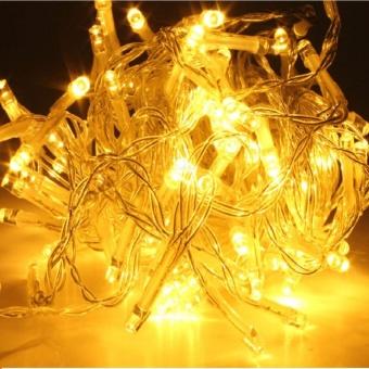 DAN DAN Mabuhay Star 80 Led Bright and Vivid Colors String Lights/ Christmas Lights (Yellow)