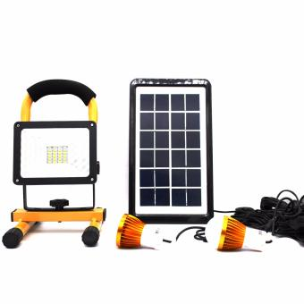 DAT Solar Home Lighting System Emergency light Camping light
