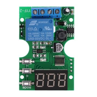 DC6-30V Voltage Test Module Voltage Meter Relay Output Control Delay Switch for Battery Charging/Discharging - intl Price Philippines