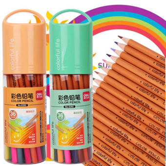 Deli cute color drawing color of lead multi-color pencil