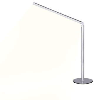 Desk Lamp, Metal Adjustable Dimmable LED Table Light Lamp - intl