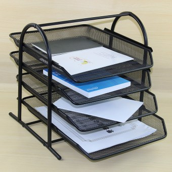 Desktop combination of organizing file Tray