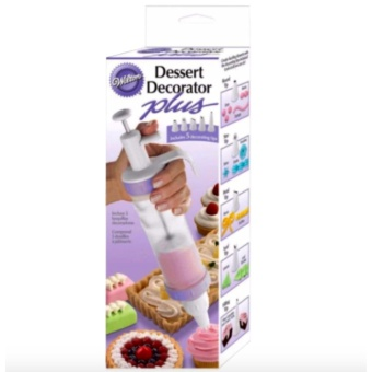 Dessert Decorator Plus (Clear) with FREE Rubber Bracelet LEDDigital Wrist Watch (Color may vary)