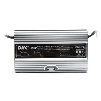 DHC SC244PE 24V 4AMP Digital Battery Charger and Maintainer (Grey) - picture 2