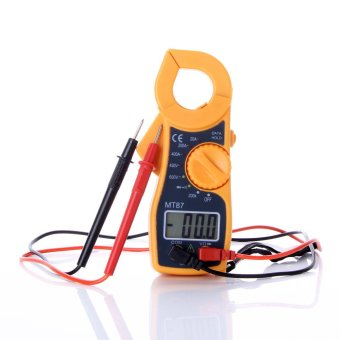 Digital Clamp Multifunction Meter Multimeter Voltage CurrentCapacitance Tester Measure volt Ampere Ohm 400a