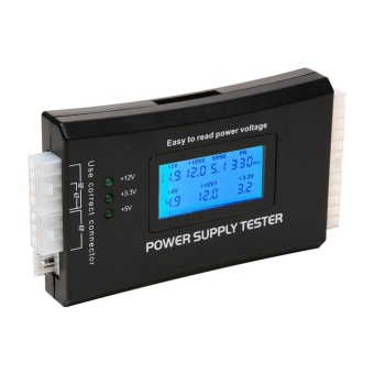 Digital LCD Computer 20/24 Pin Power Supply Tester - intl Price Philippines