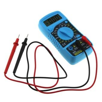Digital LCD Multimeter Voltmeter Ammeter AC/DC/OHM Volt CurrentTester (Blue) - intl - 3