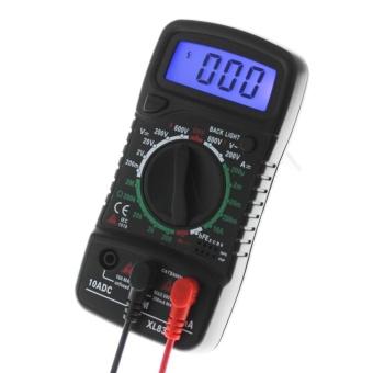 Digital LCD Multimeter Voltmeter Ammeter AC/DC/OHM Volt TesterCurrent Test - intl - 4