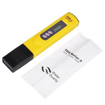 Digital LCD Water Quality Testing Pen TDS Meter Tester Yellow - intl