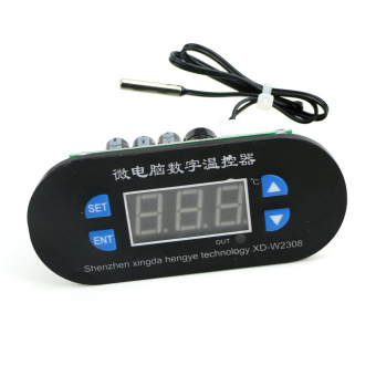 Digital LED Heat Cool Thermostat Temperature Controller SensorHottest DC 12V (Intl)