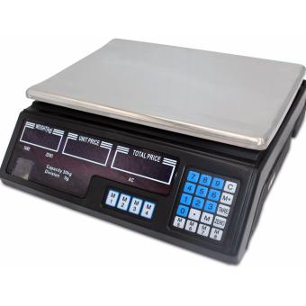 Digital Price Computing Weight Electronic Scale 30KG (Black)