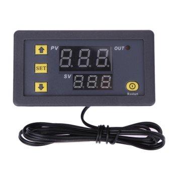 Digital Temperature Controller Red Blue Display DC12V W3230 - intl - 3