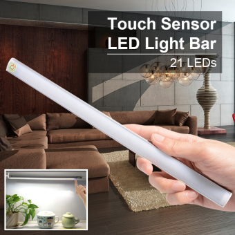 Dimmable 21 LED Touch Sensor Light Kitchen Under Cabinet Bar TubeLamp LD732
