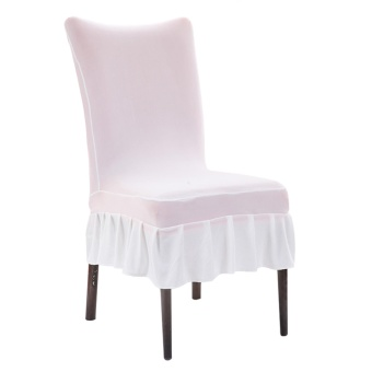 Dining Chair Covers Spandex Strech Dining Room Chair Protector Slipcover Decor - intl