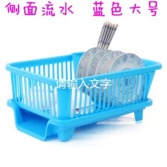Dish cabinet dishes tableware storage Shelf Water Draining dish rack