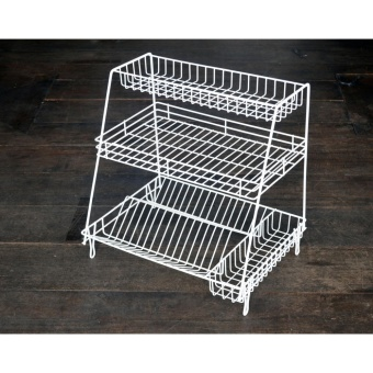 Dish Rack 6-3L DISH DRAINER DISH RACK KITCHEN ORGANIZER KITCHENWARE SPOON FORK PLATE CUP HOLDER PLATE DRYER