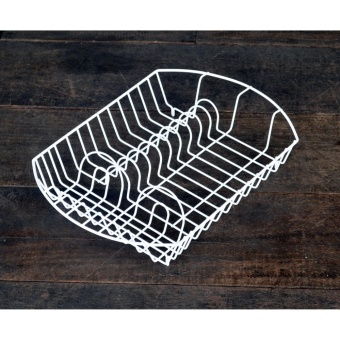 Dish Rack oval DISH DRAINER DISH RACK KITCHEN ORGANIZER KITCHENWARESPOON FORK PLATE CUP HOLDER PLATE DRYER